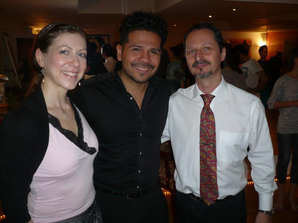 Laura and Michael with Sebastian Arce