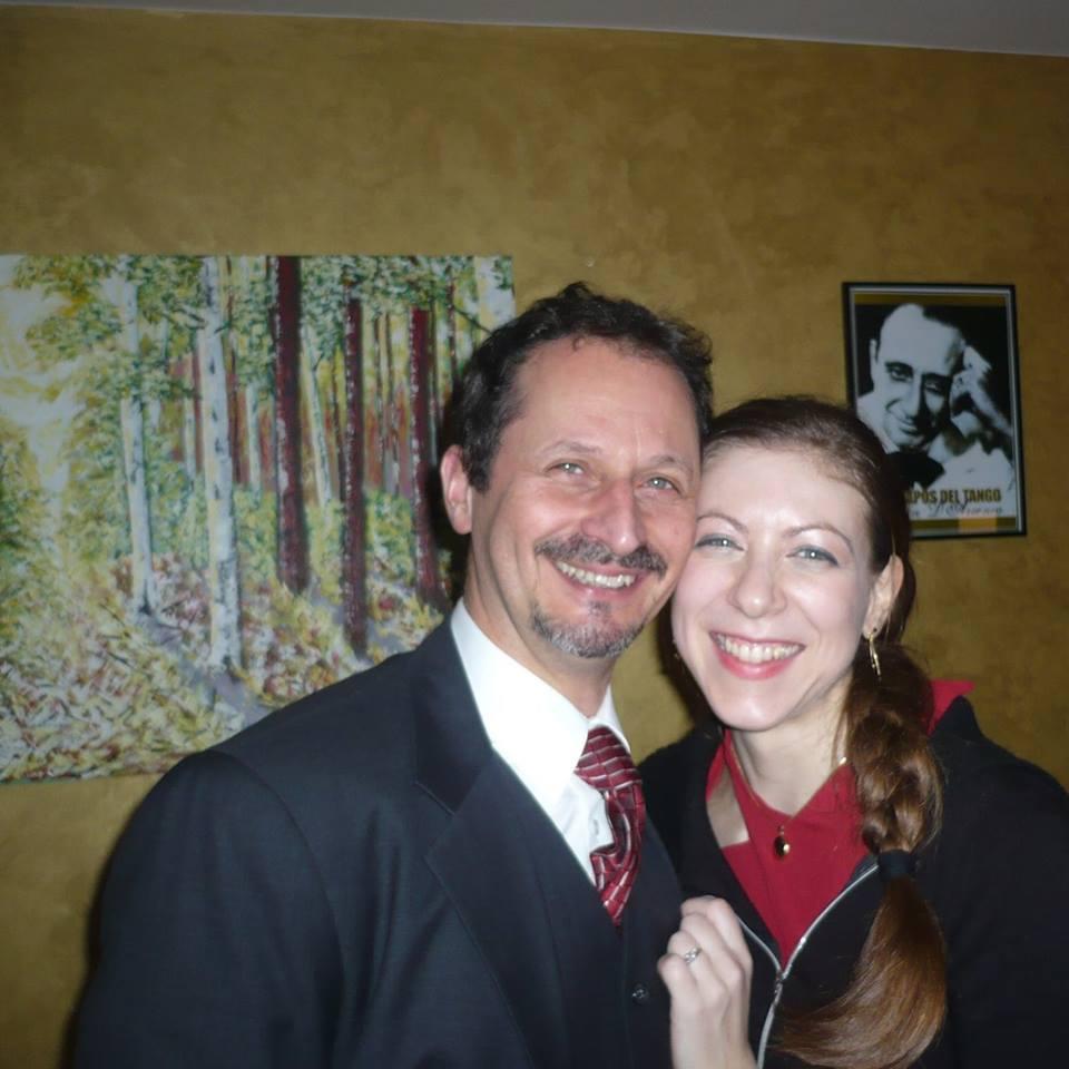 Laura and Michael Happy Tango couple